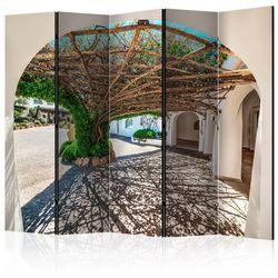 Parawan 5-częściowy - altana z drzew - poltu quatu, włochy ii [room dividers]