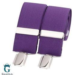 Szelki do spodni fioletowe br-036