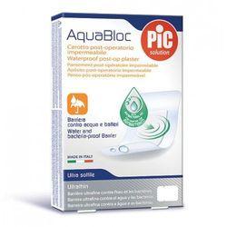 Plastry Aquabloc POST-OP 10x10cm antybakteryjne (5 szt.)