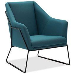 Fotel Holte niebieski