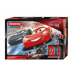 Tor wyścigowy GO!!! Disney-Pixar Auta - Lets Race! 6,2m (62475). od 6 lat