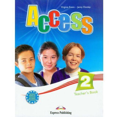 Książki do nauki języka, Access 2 Teacher's Book (opr. miękka)
