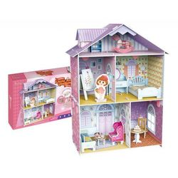 PUZZLE 3D Domek dla lalek Mały Artysta