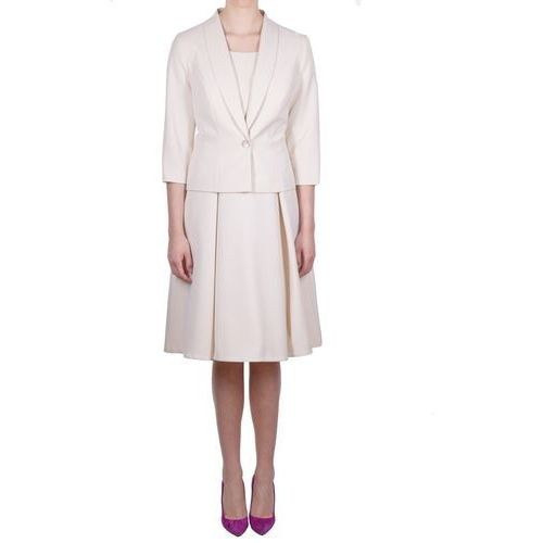 Suknie i sukienki, Komplet maryla (Kolor: kremowy, Rozmiar: 38)
