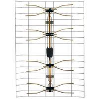 Anteny RTV, Antena zewnętrzna siatkowa z symetryzatorem HN16 VHF / UHF DPM SOLID