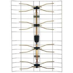 Antena zewnętrzna siatkowa z symetryzatorem HN16 VHF / UHF DPM SOLID