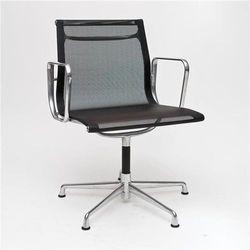Fotel konferencyjny CH inspirowany EA108 siateczka, chrom