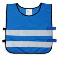 Pozostała odzież dziecięca, Kamizelka odblaskowa dla dzieci S 110-121cm - S \ niebieski