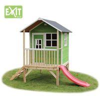 Domki i namioty dla dzieci, Domek cedrowy dla dzieci EXIT LOFT 300 /zielony/
