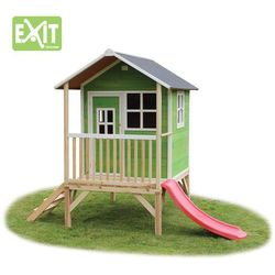 Domek cedrowy dla dzieci EXIT LOFT 300 /zielony/