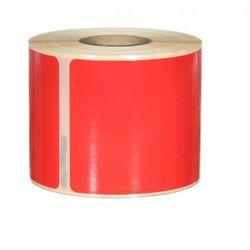 Etykiety samoprzylepne 99014 czerwone - 54x101mm, 220 szt.