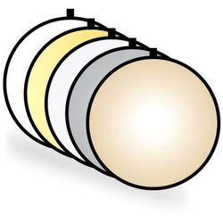 Blenda okrągła 5w1, 80cm, CineGEN® (Gold+Sunfire)