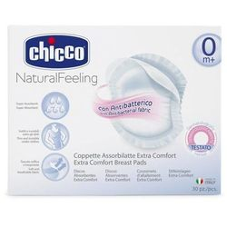 CHICCO Wkładki laktacyjne antybakteryjne Extra Comfort x 30 sztuk