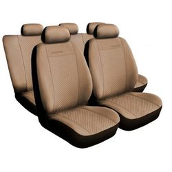 Pokrowce samochodowe na fotele Auto-Dekor Prestige beżowe