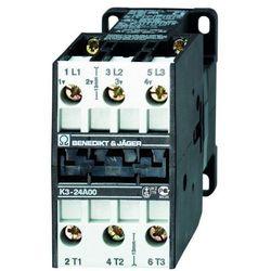 Stycznik 3-polowy 11kW 24A 230V AC K3-24A00 230