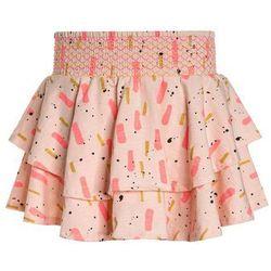 Soft Gallery LULU SKIRT Spódnica trapezowa peach parfait