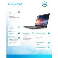 Notebooki, Dell Latitude 5300 N016L530013EMEA