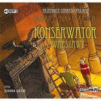 Książki kryminalne, sensacyjne i przygodowe, Tajemnice starego pałacu. Konserwator... audiobook