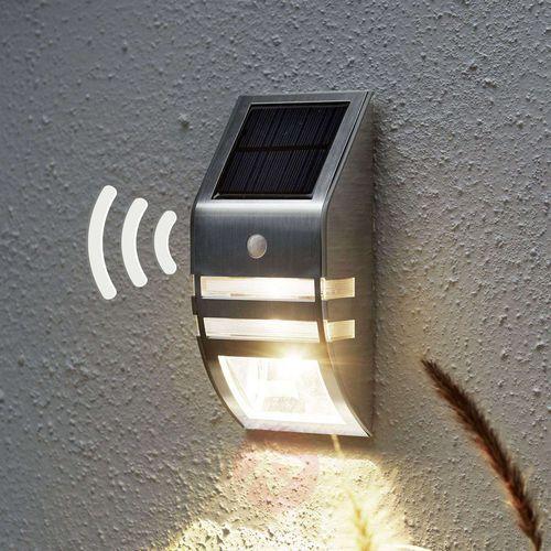 Czujki alarmowe, Ścienna lampa solarna LED Wally, czujnik ruchu