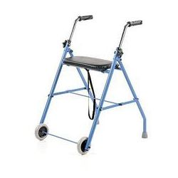 ALEX Podpórka ułatwiająca chodzenie (dwukołowa stalowa)