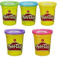 Ciastolina, Ciastolina Play Doh w tubie 112g mix kolorów - Hasbro
