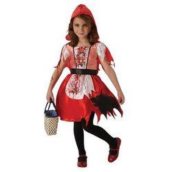 Kostium Zakrwawiony Czerwony Kapturek dla dziewczynki - Roz. L
