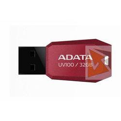 Pendrive ADATA UV100 32GB Czerwony AUV100-32G-RRD Darmowy odbiór w 21 miastach!