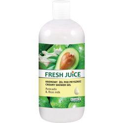 Fresh Juice Żel pod prysznic kremowy Avocado i Mleko Ryżowe 500ml - Elfa Pharm OD 24,99zł DARMOWA DOSTAWA KIOSK RUCHU