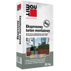 Beton montażowy Baumit B40 ekspresowy 25 kg