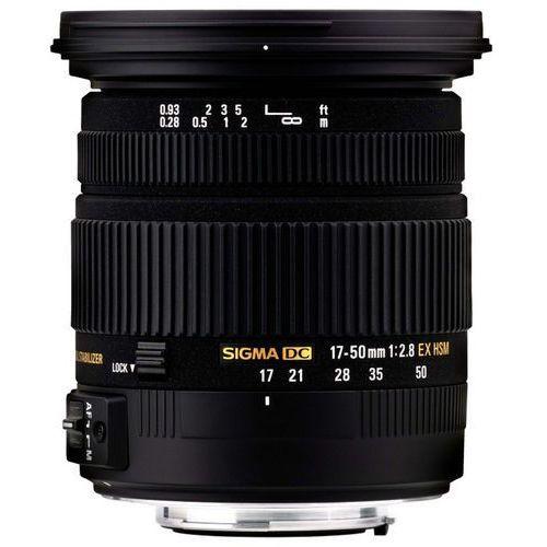 Obiektywy fotograficzne, SIGMA 17-50 mm F2.8 EX DC OS HSM obiektyw mocowanie Nikon