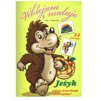 Książki dla dzieci, Jeżyk Wklejam i maluję. Gdzie mieszkają zwierzątka? (opr. miękka)