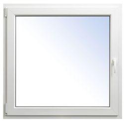 Okno PCV rozwierno-uchylne 1165 x 1135 mm lewe