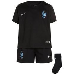 Nike Performance FFF FRANKREICH DRY SET Krótkie spodenki sportowe black/metallic silver