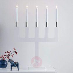 Sundstorp – ponadczasowo piękny biały świecznik