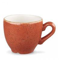 Filiżanki, Filiżanka espresso 0,1 l, pomarańczowa | CHURCHILL, Stonecast Spiced Orange