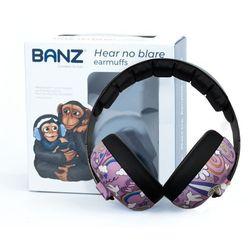 Słuchawki ochronne nauszniki dzieci 0-3lat BANZ - Peace