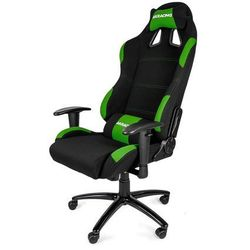 AKracing Gaming K7012 Green Krzesło gamingowe - Czarno-zielony - Tkanina - 150 kg