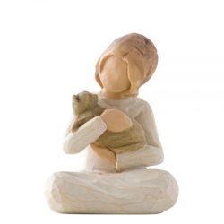 """Dziewczynka z kotkiem """"ŻYCZLIWOŚĆ"""" Kindness (girl) 26218 Susan Lordi Willow Tree"""