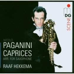 N. Paganini - 24 Caprices Op.1 Arr.Saxo