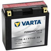Akumulatory do motocykli, Varta Akumulator AGM 12 V 13 Ah YT14B-4 / YT14B-BS Darmowa wysyłka i zwroty