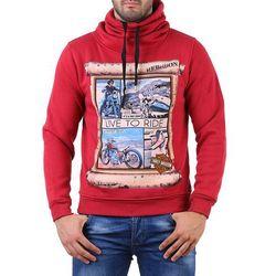 Bluza męska GOTY RED