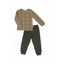 Pidżama bawełniana w panterkę 3W39BL Oferta ważna tylko do 2023-11-16