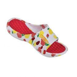 Spokey Flipi - klapki basenowe dziecięce r.31 (biało-czerwony)