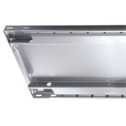 Dodatkowa półka ocynkowana, wys. krawędzi 25 mm, opak.: 2 szt., szer. x głęb. 13