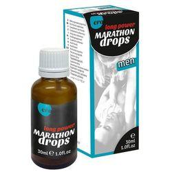 Krople opóźniające wytrysk Marathon Men Long Power Drops 30 ml