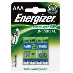 Bateria ENERGIZER Accu Recharge Universal AAA 500mAh 4szt.