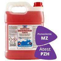 Pozostałe środki czyszczące, Desinoxid Forte Norenco 5l - Dezynfekcja powierzchni - Koncentrat na 333 litry roztworu