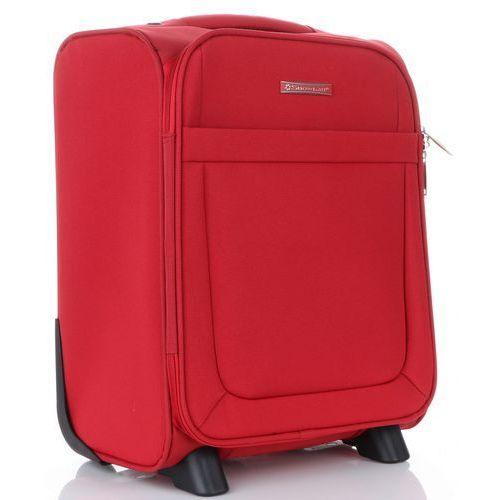 Torby i walizki, Pojemna Walizka Kabinówka Wizzair Firmy Snowball Czerwona (kolory)