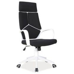 Fotel biurowy obrotowy SIGNAL Q-199 czarno biały