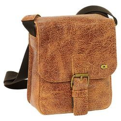 Daag Jazzy Wanted 86 torba skórzana na ramię / brązowa - brązowy